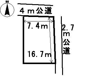 【区画図】30836 岐阜市洞土地