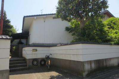【外観】鳥取市御弓町中古戸建て