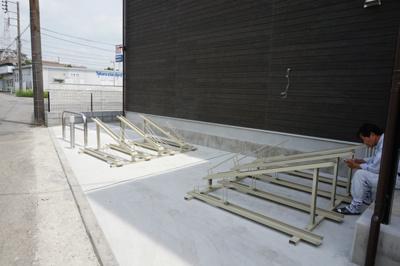 リブリ・パドルの駐輪場