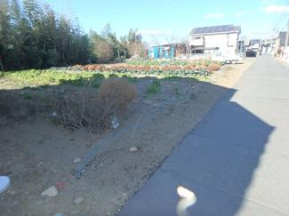 【前面道路含む現地写真】高崎市下佐野町売地