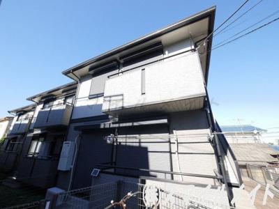 大和ハウス施工の軽量鉄骨造アパートです。