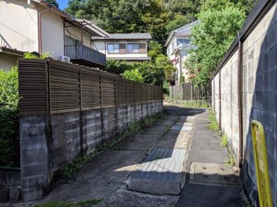 【前面道路含む現地写真】京都市左京区松ケ崎東町