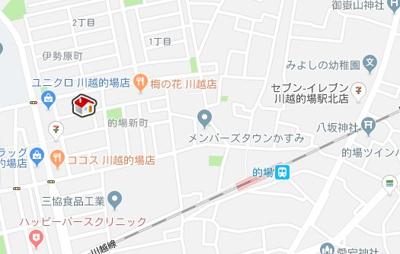 【地図】レオパレスクリアSUDA03Ⅱ(21948-209)