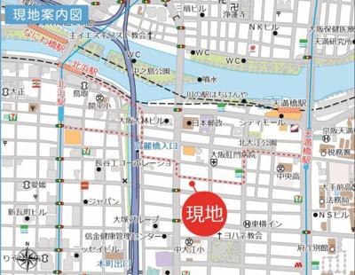 【周辺】淀川目の前の好立地!十三駅徒歩7分です