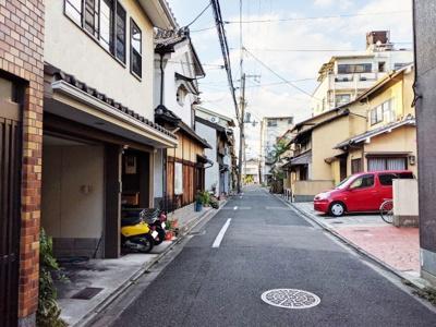 【前面道路含む現地写真】京都市下京区上二之宮町