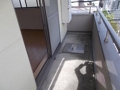 【バルコニー】メゾンハナブサ