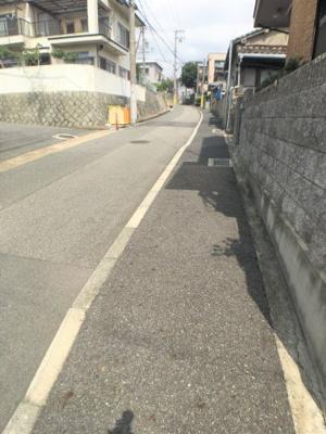 【前面道路含む現地写真】明石市東野町 中古戸建