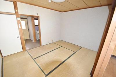 【寝室】羽鹿コーポ第1棟