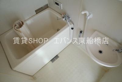 【浴室】ホワイトコーポ海神