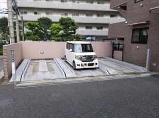 駐車場です。