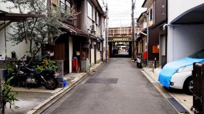 【前面道路含む現地写真】京都市東山区一橋野本町