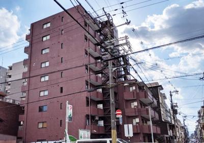【外観】ライオンズマンション二条高倉