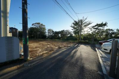 【前面道路含む現地写真】保土ヶ谷区桜ケ丘1丁目全2棟 新築戸建【成約】