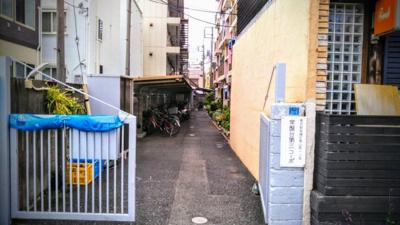 【エントランス】三田常盤台第3コーポ