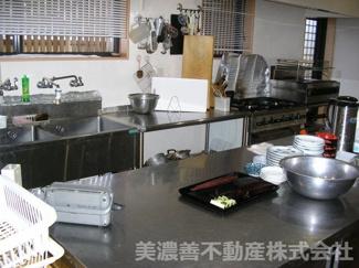 【キッチン】50098 山県市佐賀中古戸建て