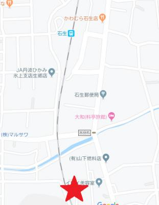 【地図】石生売地