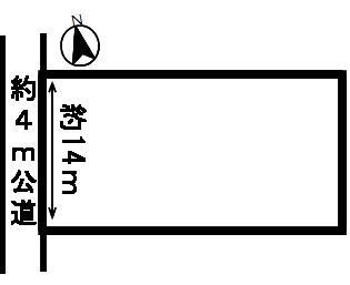 【外観】50537 羽島市江吉良町土地