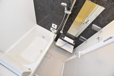【浴室】プレサンス阿波座駅前