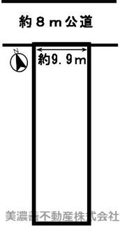 【区画図】51321 岐阜市白菊町土地