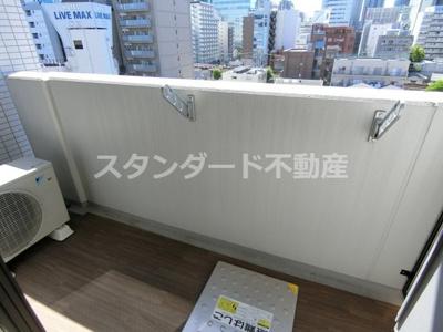 【バルコニー】レジュールアッシュ梅田NEX