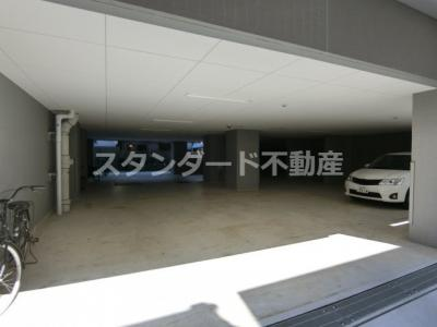 【駐車場】レジュールアッシュ梅田NEX