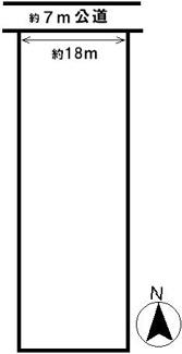 【区画図】40301 瑞穂市牛牧土地