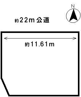 【区画図】42483 本巣郡北方調天狗堂土地