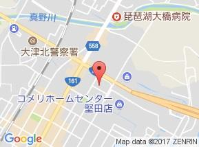 【地図】グランアクシス堅田 B棟