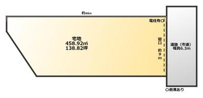 【外観】売地 八女市本町 八女福島伝統的建造物群保存地区