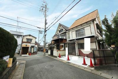 【前面道路含む現地写真】京都市山科区小山中ノ川町