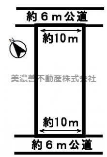 【区画図】49899 岐阜市石谷土地