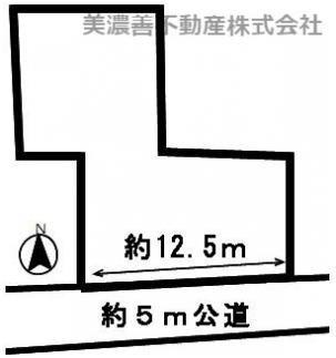 【区画図】50712 岐阜市早田土地