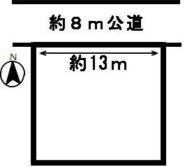 【区画図】51023 山県市高富土地