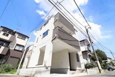 【外観】JR南武線「武蔵溝ノ口」駅 新築一戸建