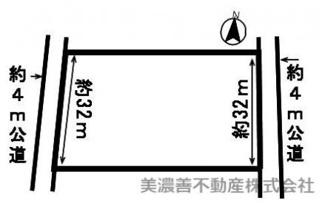 【区画図】51749 各務原市蘇原瑞穂町土地
