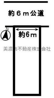 【区画図】52313 岐阜市早田東町土地