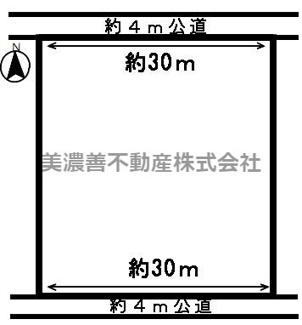 【区画図】52552 岐阜市高田土地