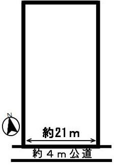 【区画図】52553 各務原市那加大門町土地