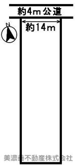 【区画図】52554 各務原市那加五反田町土地