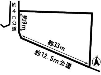 【外観】52566 岐阜市旦島中土地