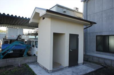 【トイレ】稲美町草谷貸工場
