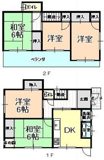 【外観】53397 岐阜市日野東中古戸建て