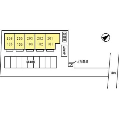 【区画図】ティラージュY.K
