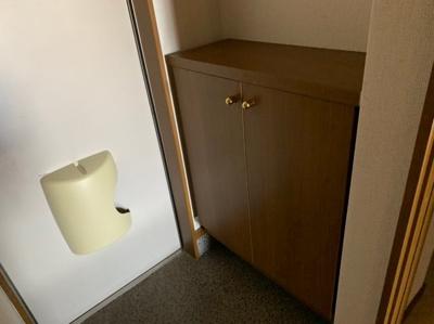 シンプルで使いやすい玄関です 【COCO SMILE】