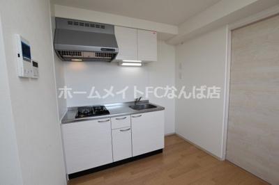 【キッチン】レオンヴァリエ大阪ベイシティ