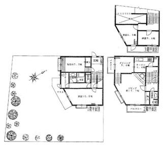 戸建て感覚でマンションのメリットを享受できるメゾネットタイプです