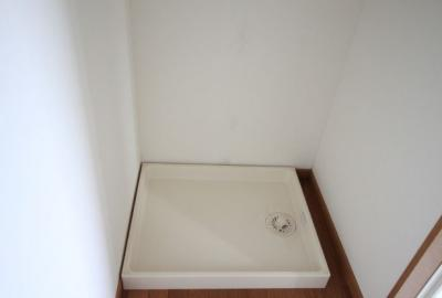 うれしい室内洗濯機置き場