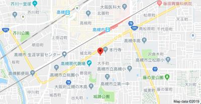 【地図】数土ビル (株)Roots