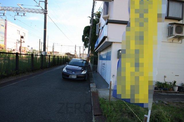 【前面道路含む現地写真】高石市西取石 新築一戸建て