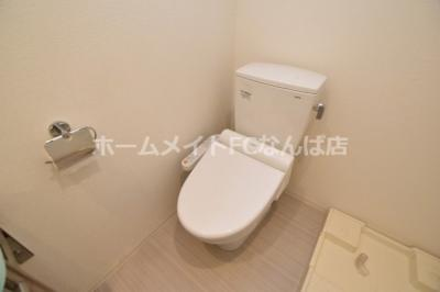 【トイレ】アドバンス心斎橋ラシュレ